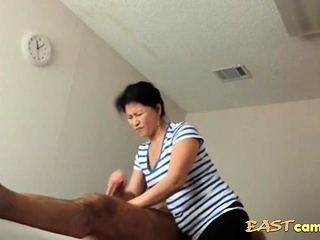 Asian Massage Parlour Old Asian Lady Makes Client Exclaim