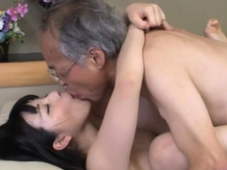 Jav Be featured Ai Uehara Fucks Old Duffer On A catch Couch
