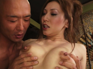 Erotic Asian sex ends in a wet facial